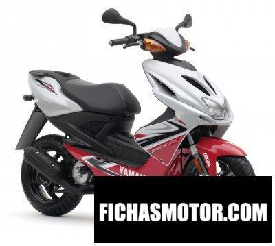 Ficha técnica Yamaha aerox r 2008