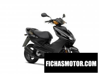 Ficha técnica Yamaha aerox r 2010