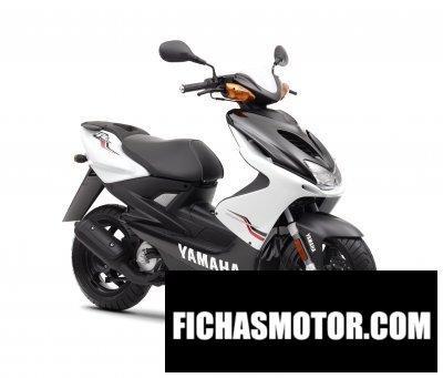 Ficha técnica Yamaha aerox r 2011
