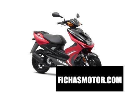 Ficha técnica Yamaha aerox r 2012