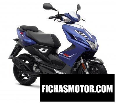 Ficha técnica Yamaha aerox r 50 2013