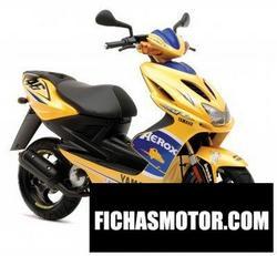 Imagen moto Yamaha aerox r race replica 2008