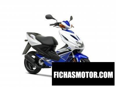Ficha técnica Yamaha aeroxr 2009