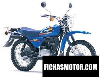 Ficha técnica Yamaha ag 100 2007