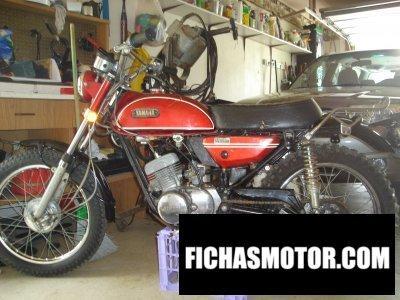 Imagem da motocicleta Yamaha ag 175 ano 1971