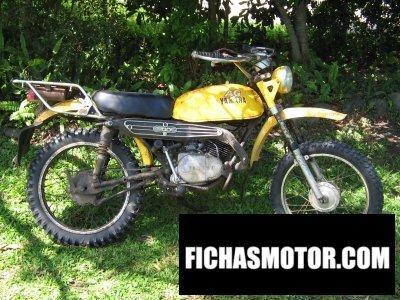 Ficha técnica Yamaha ag100 1979