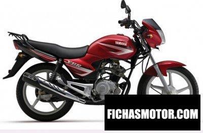 Ficha técnica Yamaha alba 110 2011