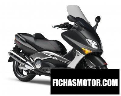 Ficha técnica Yamaha black max 2007