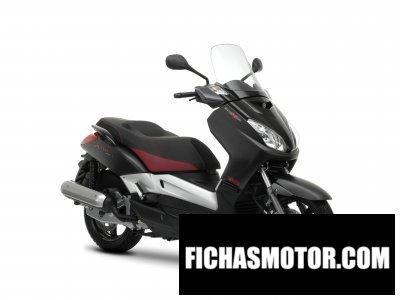Ficha técnica Yamaha black x-max 125 2009