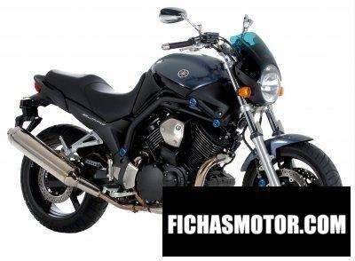 Imagen moto Yamaha bt 1100 bulldog año 2006