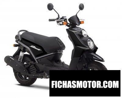 Imagen moto Yamaha bws 125 año 2010