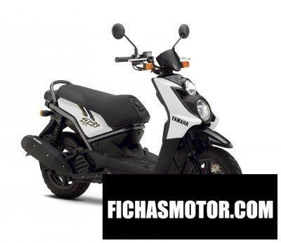 Imagen moto Yamaha bws 125 año 2011