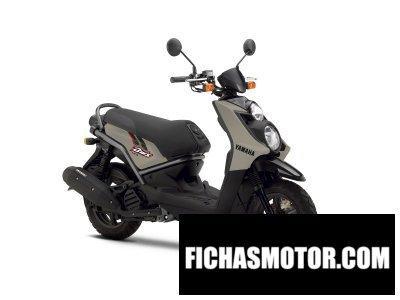 Imagen moto Yamaha bws 125 año 2012