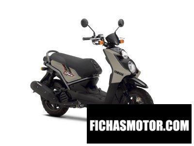 Ficha técnica Yamaha bws 125 2014