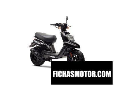 Ficha técnica Yamaha bws easy 50 2014