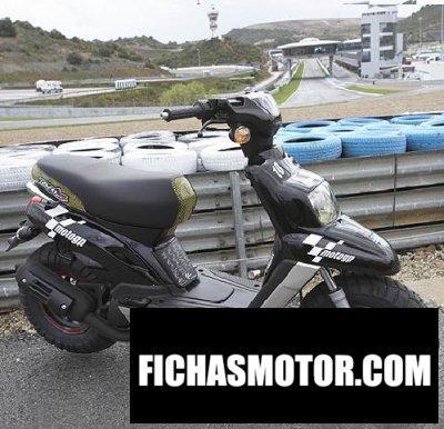Ficha técnica Yamaha bws motogp 2006