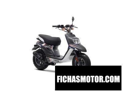 Imagen moto Yamaha bws naked 50 año 2014