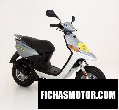Imagen moto Yamaha bws ng año 2009