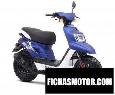 Ficha técnica Yamaha bws original 50 2013