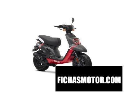 Ficha técnica Yamaha bws original 50 2014