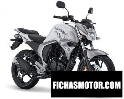 Ficha técnica Yamaha byson fi 2017