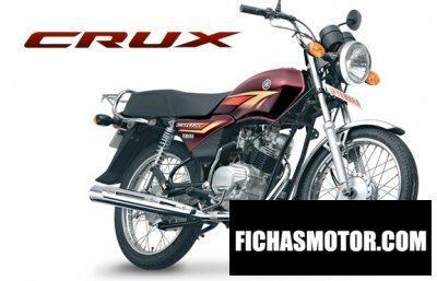 Ficha técnica Yamaha crux 2007