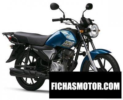 Imagen moto Yamaha crux año 2017