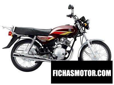 Ficha técnica Yamaha crux r 2011