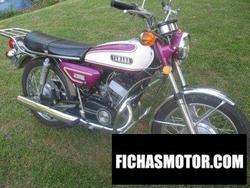 Imagen moto Yamaha cs5 1972