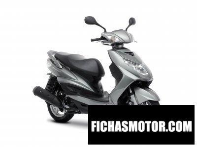 Ficha técnica Yamaha cygnus x 2010