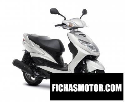 Ficha técnica Yamaha cygnus x 2011