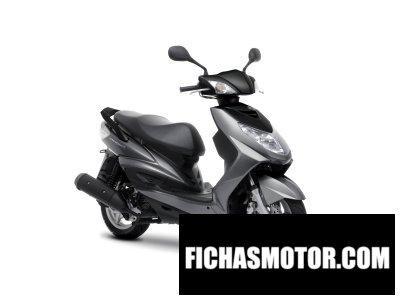 Imagen moto Yamaha cygnus x año 2012