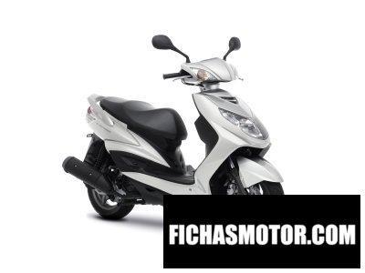 Ficha técnica Yamaha cygnus x 2014