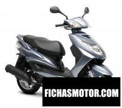 Imagen moto Yamaha cygnusx 2008