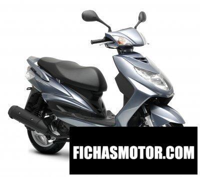 Imagen moto Yamaha cygnusx año 2008