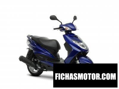 Ficha técnica Yamaha cygnusx 2009