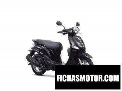 Imagen moto Yamaha delight año 2014
