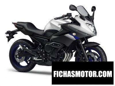 Imagen moto Yamaha diversion año 2015