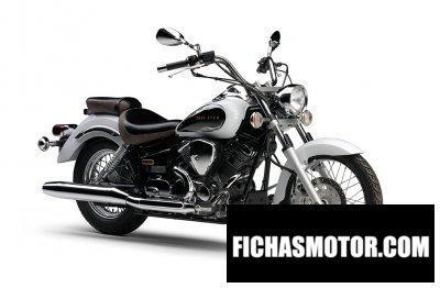 Ficha técnica Yamaha drag star 250 2018