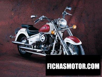 Imagen moto Yamaha drag star Classic four año 2002