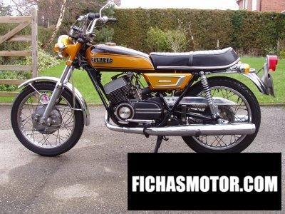Ficha técnica Yamaha ds 7 1971