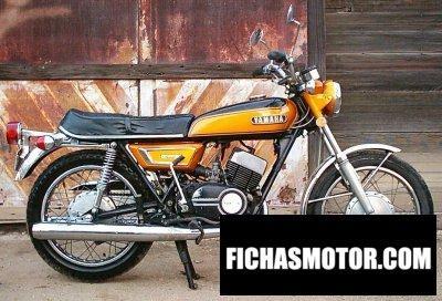Imagen moto Yamaha ds 7 año 1972