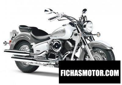 Ficha técnica Yamaha dsc11 drag star Classic eleven 1100 2011