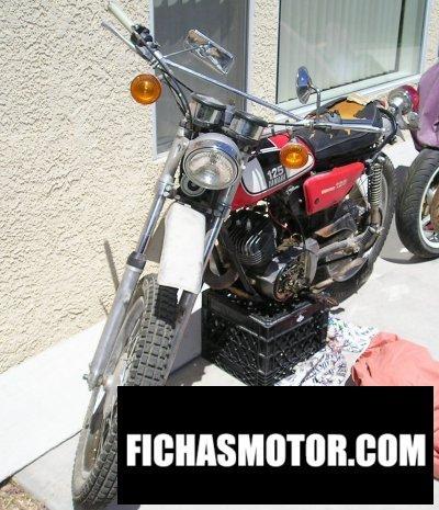 Ficha técnica Yamaha dt 125 e 1974