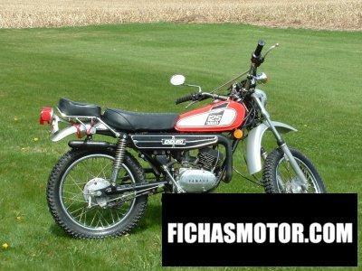 Ficha técnica Yamaha dt 125 e 1975