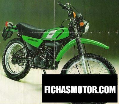 Ficha técnica Yamaha dt 125 e 1976