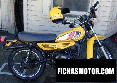 Ficha técnica Yamaha dt 125 e 1977