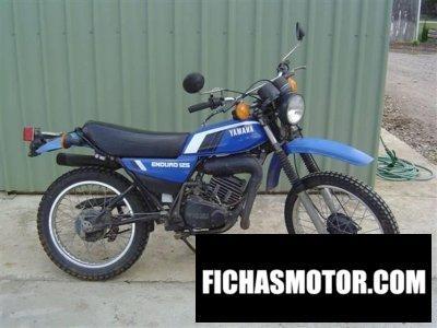 Ficha técnica Yamaha dt 125 e 1979