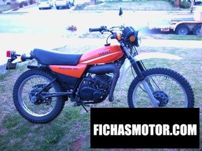 Ficha técnica Yamaha dt 125 e 1980