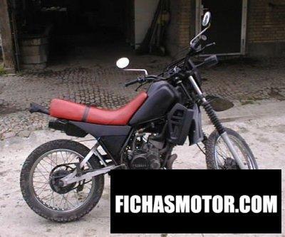 Ficha técnica Yamaha dt 125 lc 1982